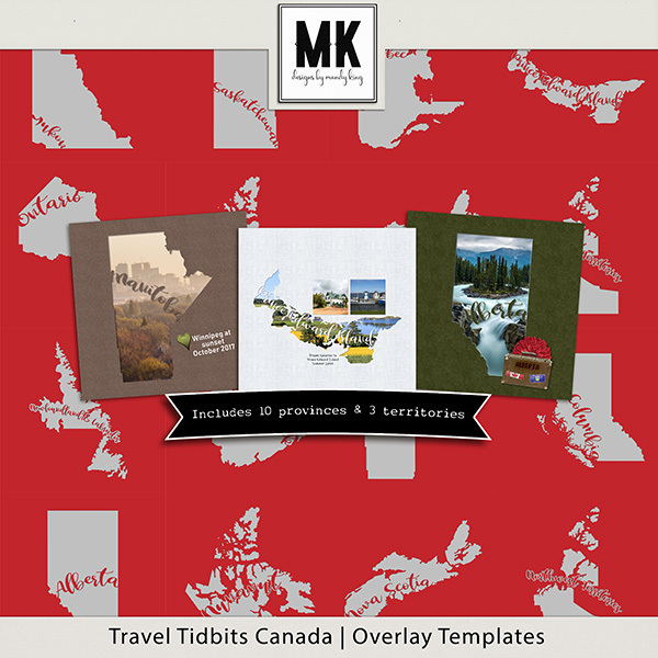 Travel Tidbits Canada Overlay Templates