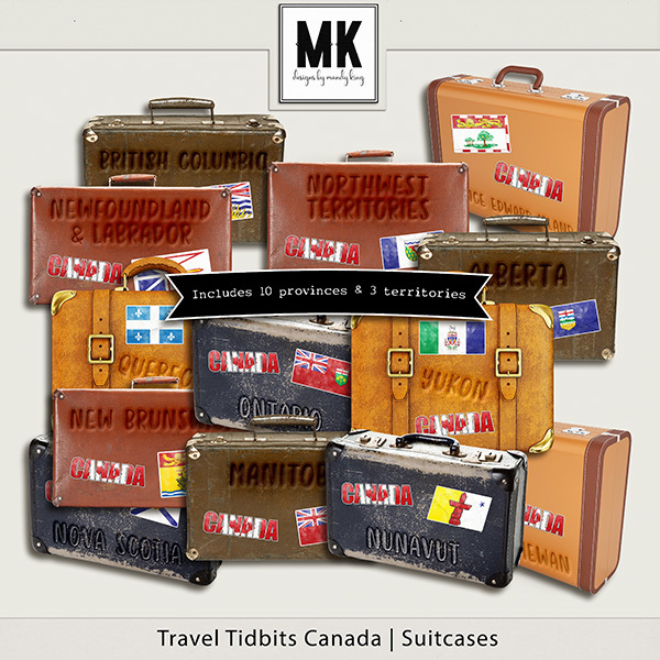Travel Tidbits Canada Suitcases