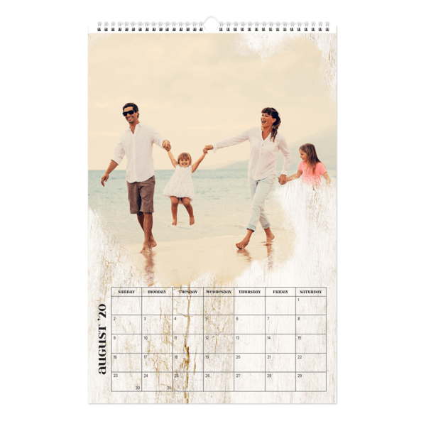 Artistic License Light Wood Calendar