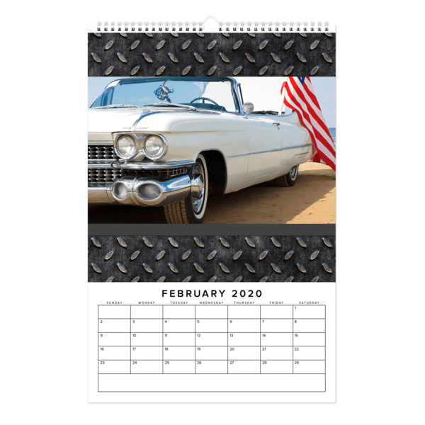 Industrial Landscape Calendar