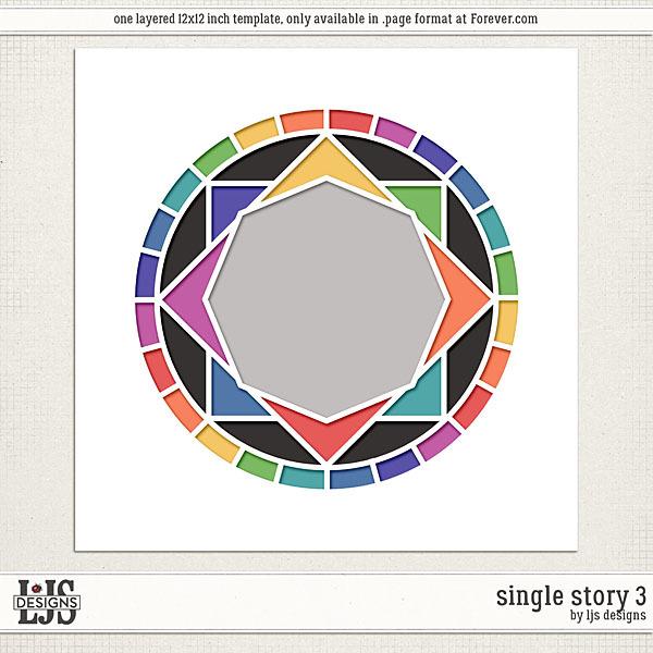 Single Story 3 Digital Art - Digital Scrapbooking Kits