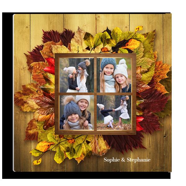 Autumn Window Panel