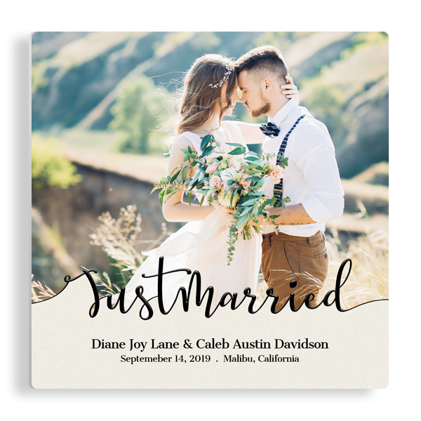 Just Married Panel
