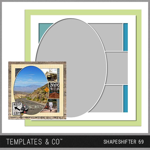 Shapeshifter 69 Digital Art - Digital Scrapbooking Kits