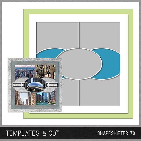 Shapeshifter 70 Digital Art - Digital Scrapbooking Kits