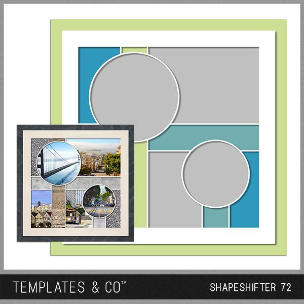 Shapeshifter 72 Digital Art - Digital Scrapbooking Kits