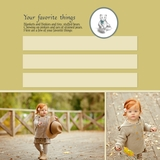 Simply Said Ashby Baby 12x12 Predesigned Pages