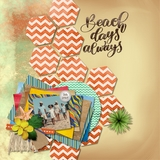 Scrap It Fast - Spring & Summer Pre-Designed Pages
