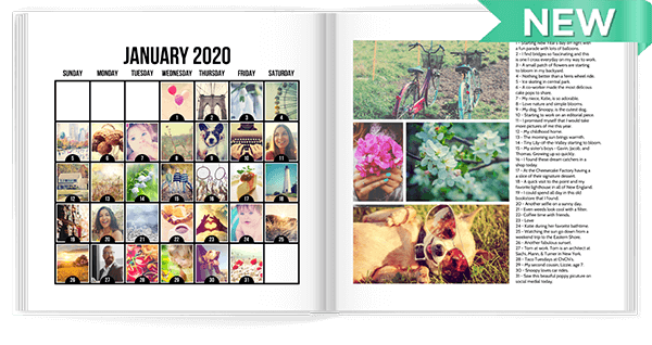 2020 Photo-A-Day Calendar Photo Book