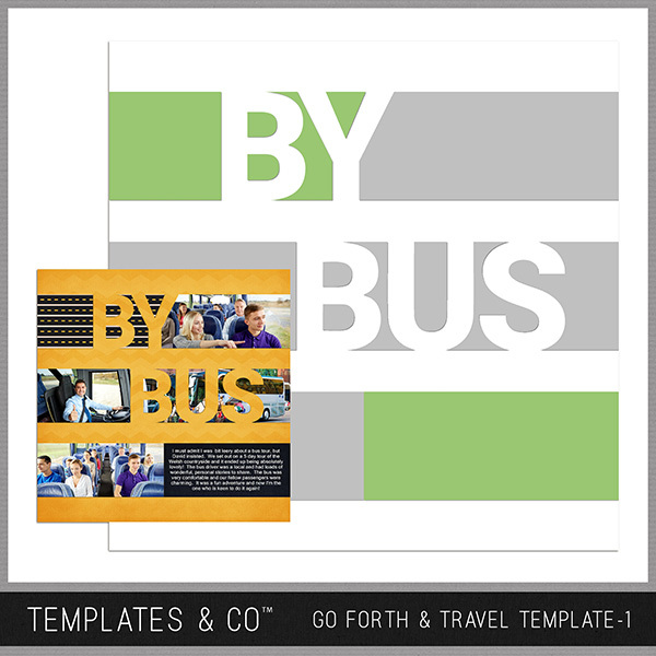 Go Forth & Travel Template 1