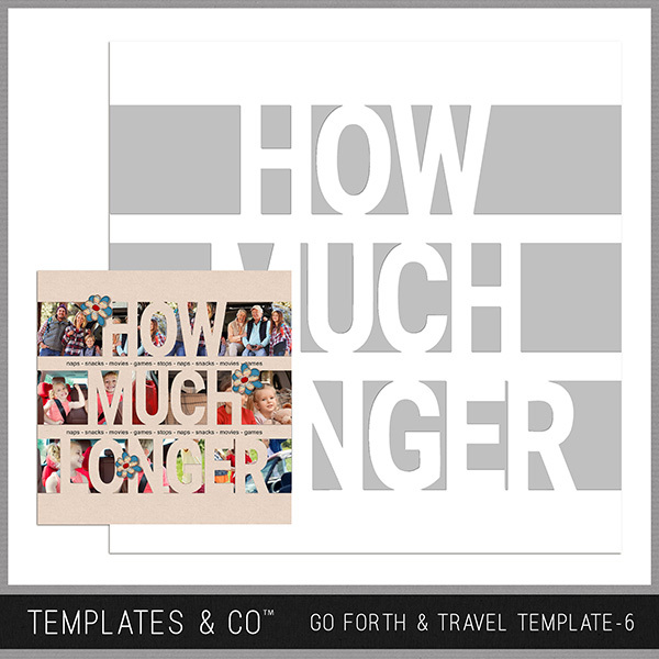 Go Forth & Travel Template 6
