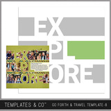 Go Forth & Travel Template 8