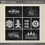 My Year - December Card Kit 2
