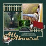 Escape on a Train Alpha