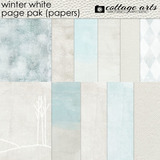 Winter White Page Pak