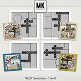 TILED Templates - Vacation Bundle