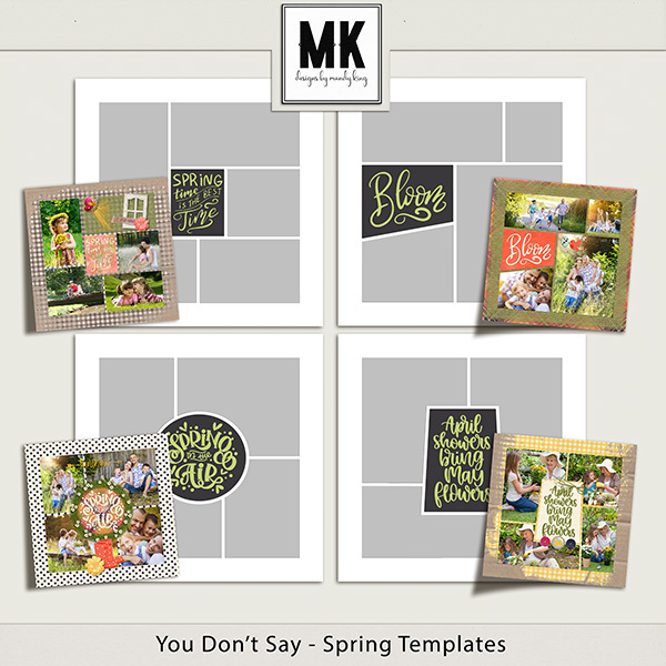 You Don't Say - Spring Templates