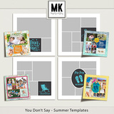 You Don't Say - Summer Templates