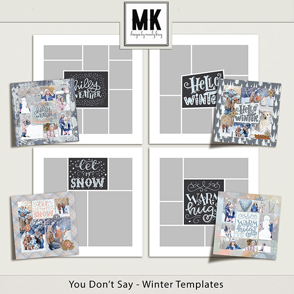 You Don't Say - Winter Templates
