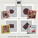 You Don't Say - Christmas Templates