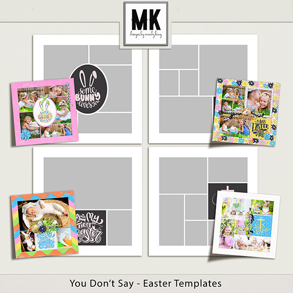 You Don't Say - Easter Templates