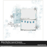 Mitten Weather Layered Template