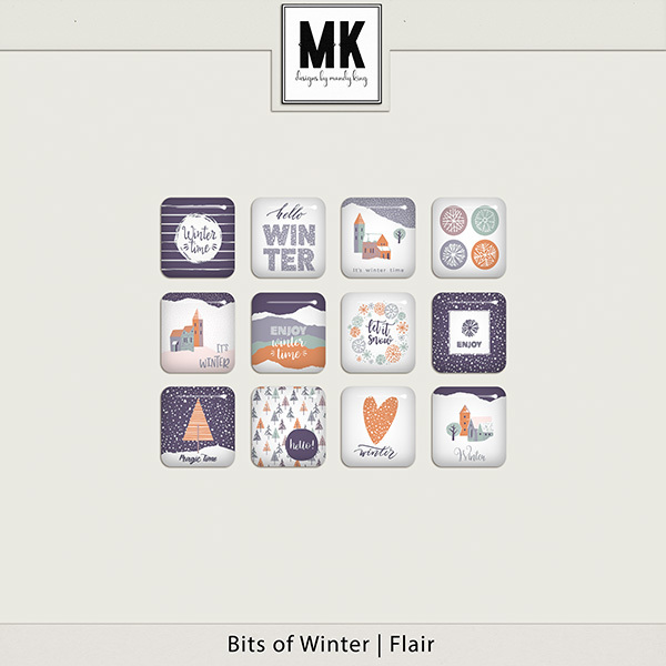 Bits of Winter - Flair