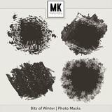 Bits of Winter - Photo Masks