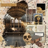 History Hunters - Museum Word Art