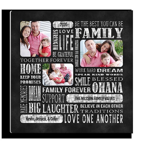 Ohana Family Subway Panel