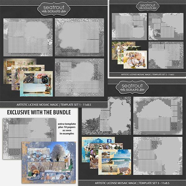 Artistic License Mosaic Magic Bonus Bundle 1 - 11x8.5