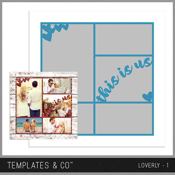Loverly - 1 Digital Art - Digital Scrapbooking Kits