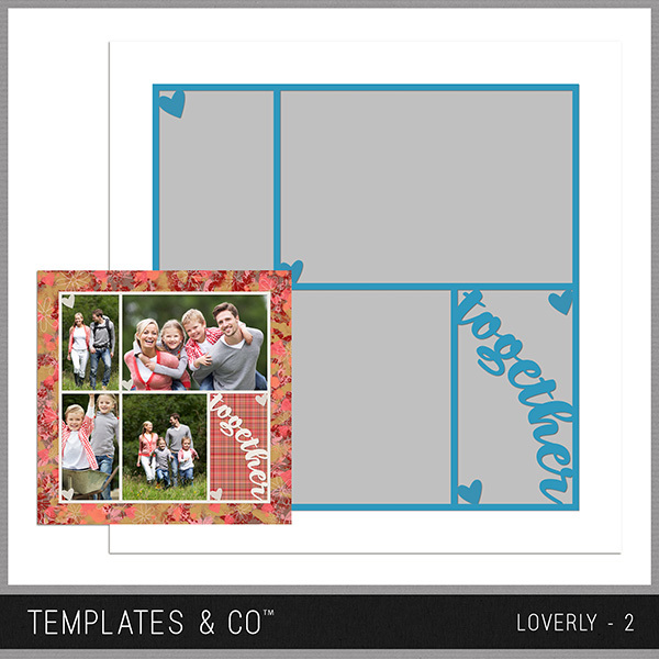 Loverly - 2 Digital Art - Digital Scrapbooking Kits