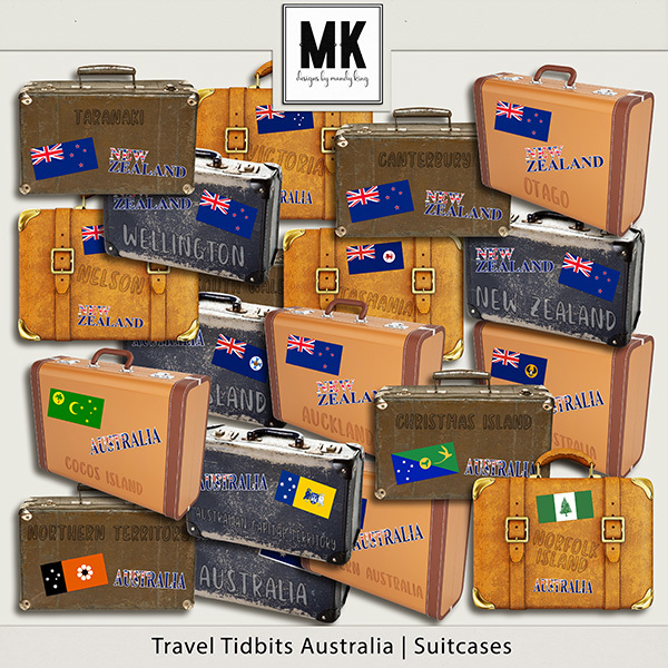 Travel Tidbits Australia - Suitcases