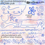 Art Journal - Blossoming Collection