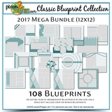 Classic Blueprint Collection  2017 - Mega Bundle (12x12)