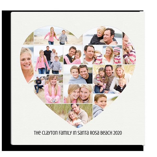 Heart Full of Photos Panel Panel