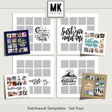Patchwork Templates - Set Four