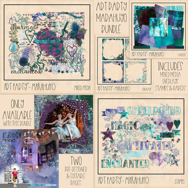 Marahuyo Complete Collection Digital Art - Digital Scrapbooking Kits