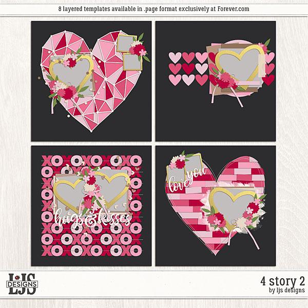 4 Story 2 Digital Art - Digital Scrapbooking Kits