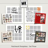 Patchwork Templates - Bundled Sets 1-4