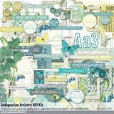 Antiquarian Artistry No. 01 Scrapbook Kit