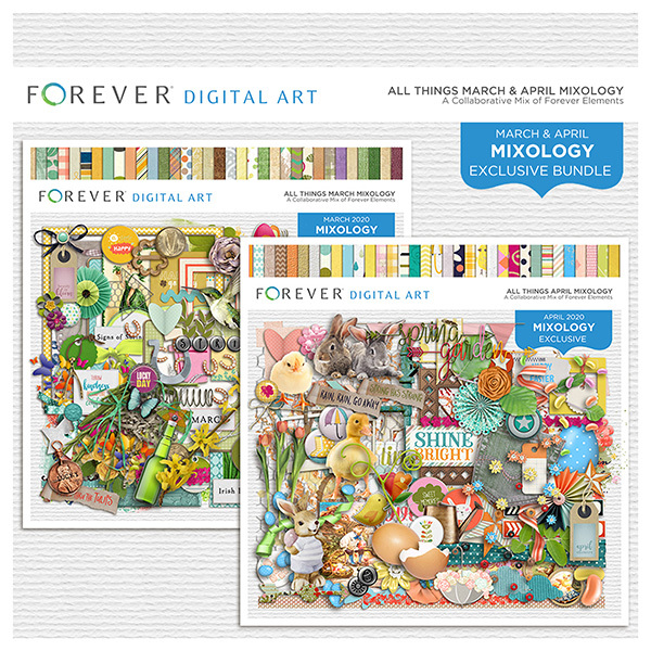 All Things March & April Mixology BundleGive the gift of Digital Art, Software, Storage, and Video plans. Make a lasting impression with our hand-selected favorites from FOREVER®.