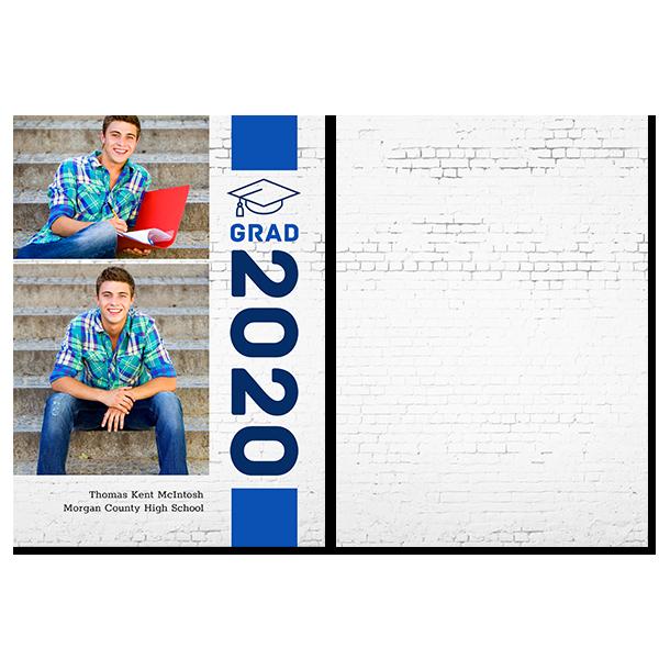 2020 Vertical Grad Card
