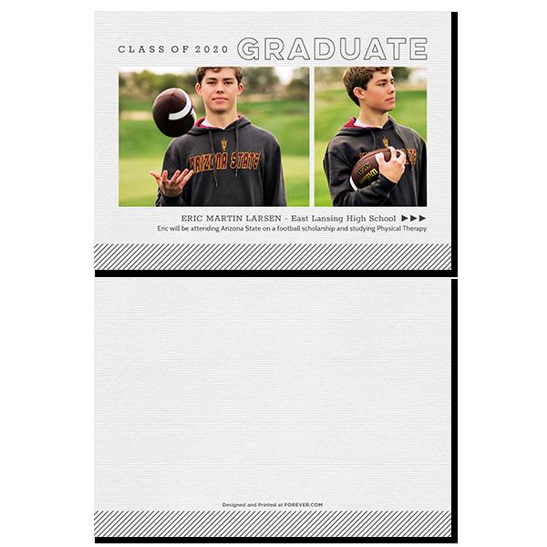 Class Of Graduate Card