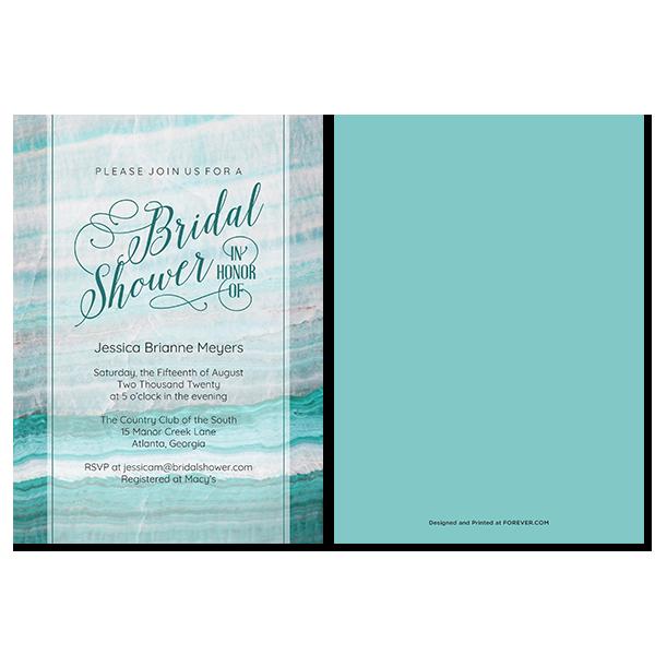 Geode Bridal Shower Card