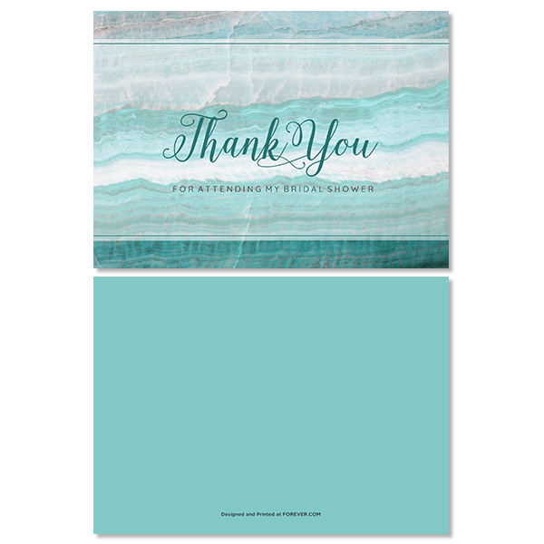Geode Thank You Card