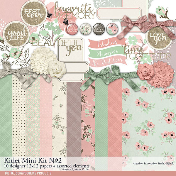 Kitlet Scrapbooking Mini-Kit No. 02