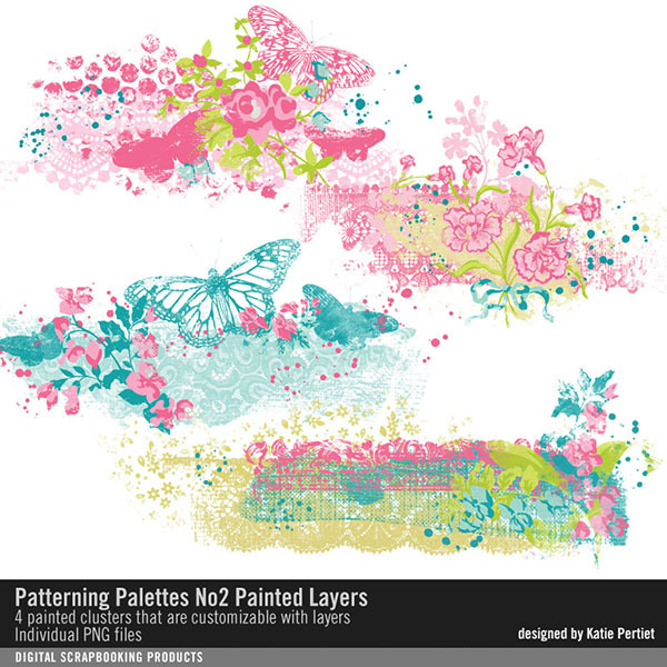 Patterning Palettes No. 02 Painted Layers