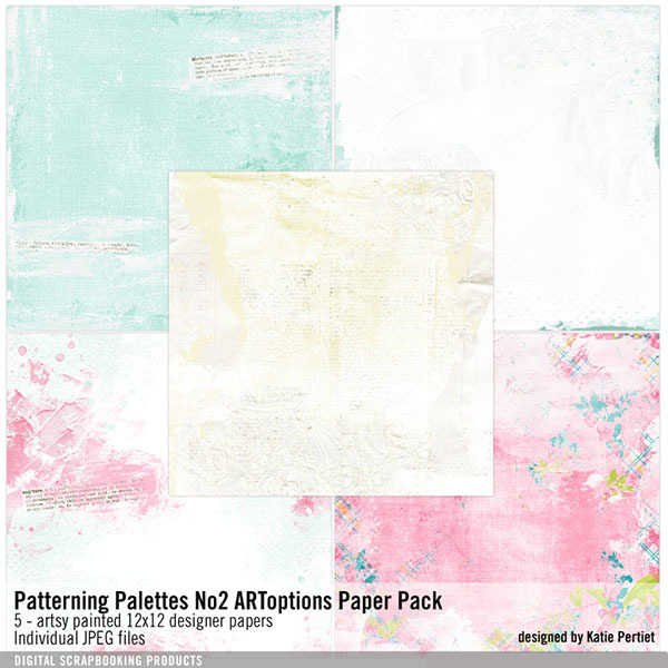 Patterning Palettes No. 02 ARToptions Paper Pack
